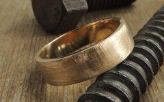 Mens Handmade Wedding Bands