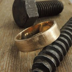 Mens Handmade Wedding Bands