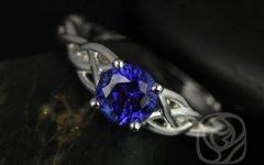 Celtic Sapphire Engagement Rings