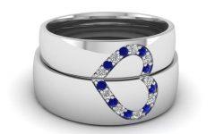 Blue Sapphire Wedding Rings