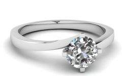 Simple Modern Engagement Rings