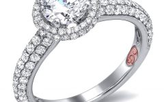 Wedding Rings With Diamonds All Around