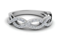 Infinity Twist Wedding Bands