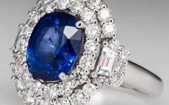 Saffire Engagement Rings