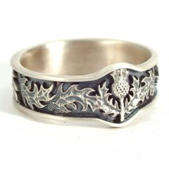 Mens Scottish Wedding Bands