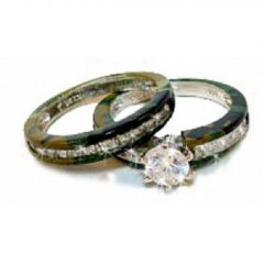 Camo Wedding Bands For Her