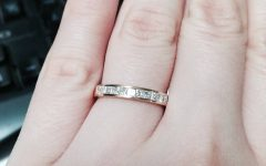 Yellow Gold Channel Set Wedding Bands