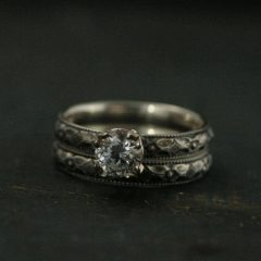 Renaissance Style Engagement Rings