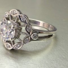 Hand Made Engagement Rings
