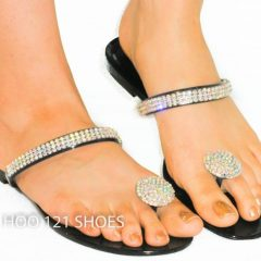 Sandals Rhinestone Toe Rings
