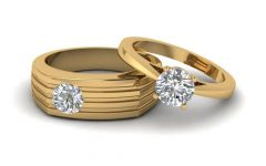 Engagement Rings for Couples in Gold