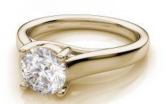 Engagement Rings 18K Yellow Gold