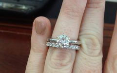 Solitaire Engagement Rings with Wedding Bands