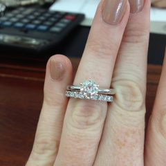 Solitaire Engagement Rings And Wedding Bands