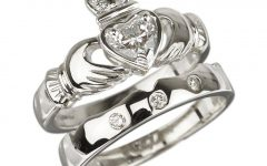Claddagh Rings Engagement Diamond
