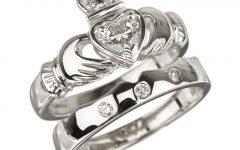 Claddagh Diamond Engagement Rings