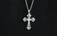 Sparkling Cross Pendant Necklaces
