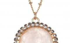 Sparkling Stones Pendant Necklaces