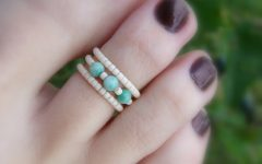Beaded Toe Rings