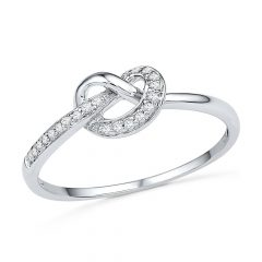 Knot Engagement Rings