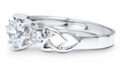 Sterling Silver Celtic Engagement Rings