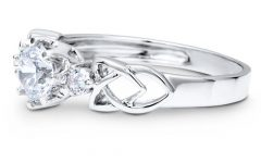 Silver Celtic Engagement Rings