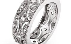 Sterling Silver Wedding Bands for Her