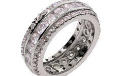 Men's Cubic Zirconia Wedding Bands