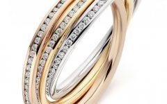 Diamond Russian Wedding Rings