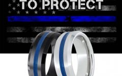 Blue Line Wedding Bands