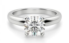 Solitaire Round Brilliant Engagement Rings