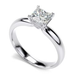 Princess Shaped Engagement Rings