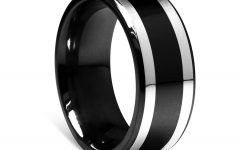 Black Wedding Bands For Him