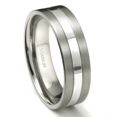 Titanium Wedding Bands For Men