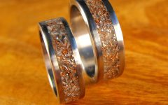 Titanium Wedding Bands Sets His Hers