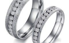 Titanium Anniversary Rings