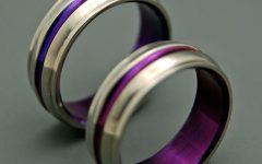 Purple Wedding Bands