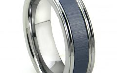 Blue Wedding Bands for Him
