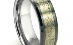 Men's Wedding Bands Meteorite