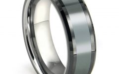 Grey Tungsten Wedding Bands