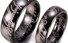 Tungsten Wedding Bands for Her