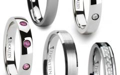 Women Tungsten Wedding Bands