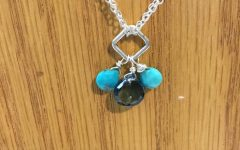 London Blue December Birthstone Locket Element Necklaces