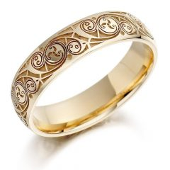 Male Gold Wedding Rings