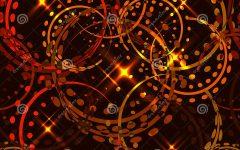 Sparkling Pattern Rings