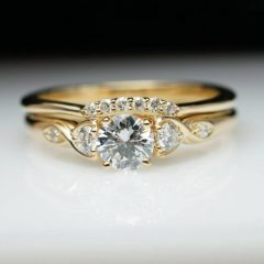 Gold Engagement Rings And Wedding Bands