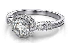 Vintage Halo Engagement Ring Settings