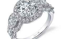 Antique Round Diamond Engagement Rings
