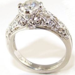 Victorian Wedding Bands For Womens