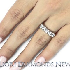 5 Stone Diamond Anniversary Rings